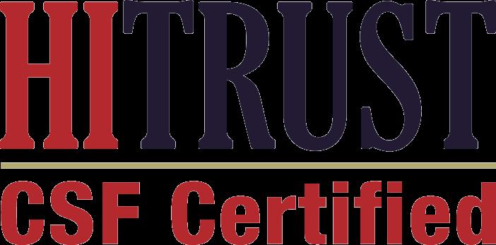 HITRUST CSF Certified Logo