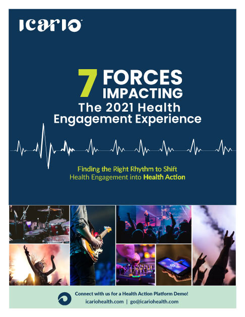 Forces Impacting 2020 Health Engagement Experience eBook cover