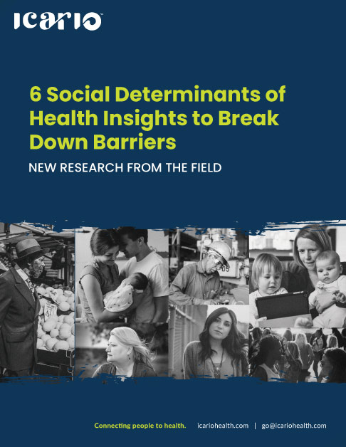 6 Social Determinants of Health Insights eBook Cover