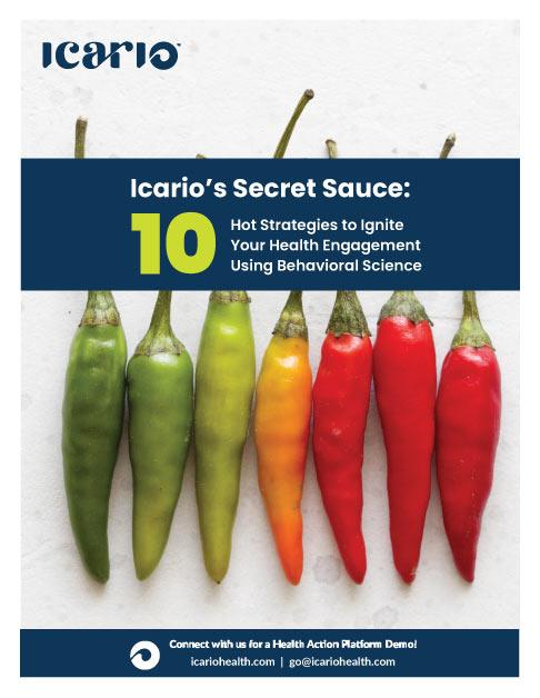 secret sauce: 10 health engagement strategies eBook cover