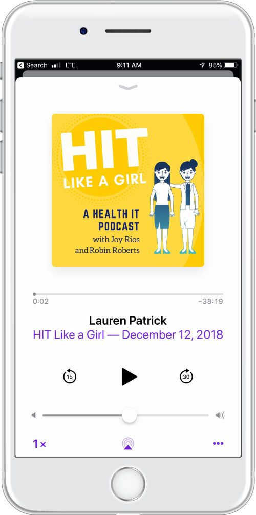 HIT Like a Girl podcast