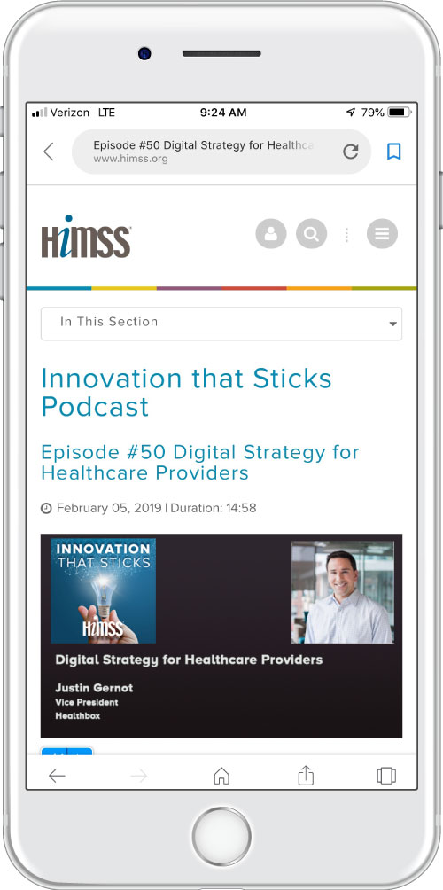 Innovation that Sticks podcast