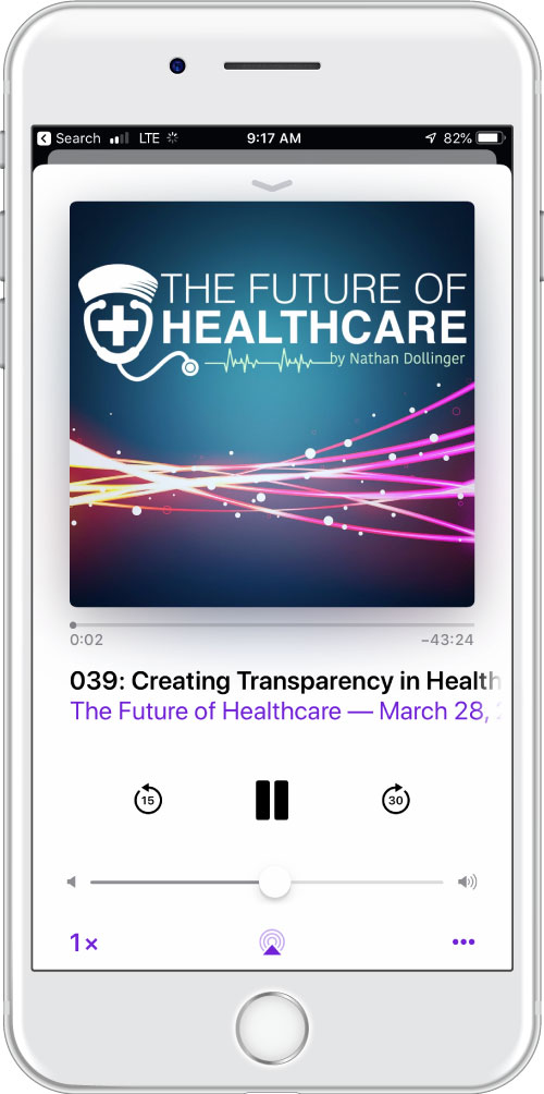 The Future of Healthcare podcast