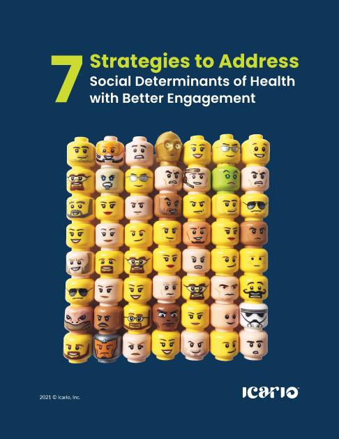 7 strategies: Social Determinants of Health eBook cover