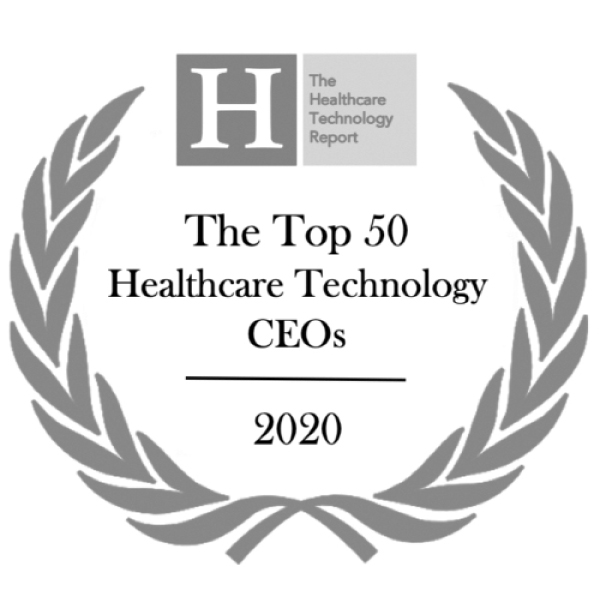 The Top 50 Healthcare Technology CEOs 2020 Logo