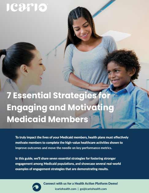 Essential Strategies for Engaging Medicaid Members eBook Cover