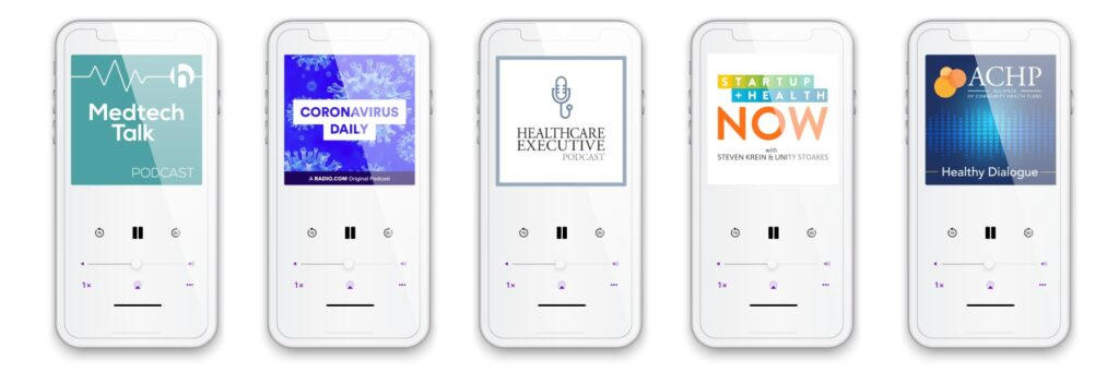 10 healthcare podcasts blog