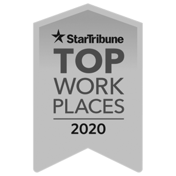 Star Tribune Top Work Places Award 2020